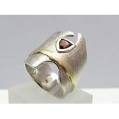 Granat Ring  (Einzelstück)