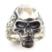 "Skull ""one"" - Silberring"